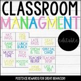 Positive Classroom Management Reward Coupons