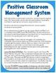 Reward System for Positive Classroom Management