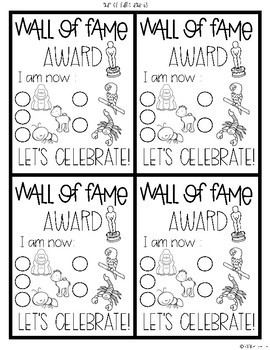 Positive Classroom Management and Leadership Wall of Fame