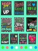 Classroom Decor Posters for Classroom Management (Coloring pages Included)