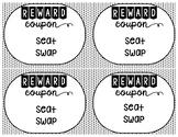 Positive Classroom Reward Coupons
