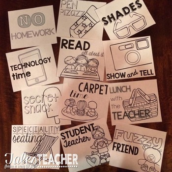 Positive Classroom Rewards