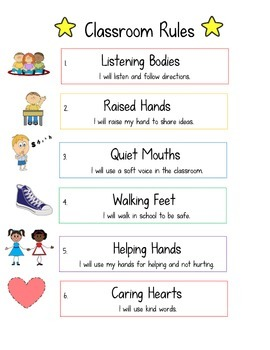 Positive Classroom Rules