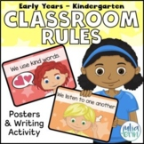 Positive Classroom Rules - Editable and Colourful