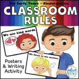 Positive Classroom Rules - (white background)