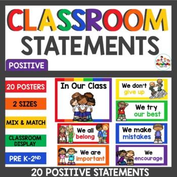 Positive Classroom Statements