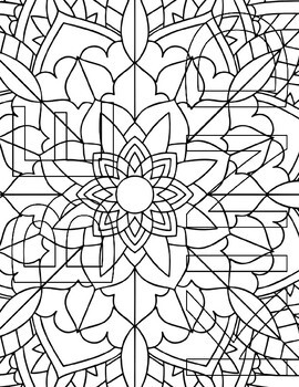 Positive Coloring Pages #1 (Anti-Bullying Messages)