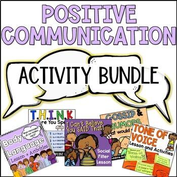 Positive Communication Lesson Bundle