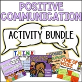 Positive Communication Activities for Group Counseling or Guidance Lessons
