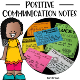 Positive Communication Notes / Parent Communication Notes