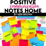 Positive Communication Notes / Parent Communication Notes