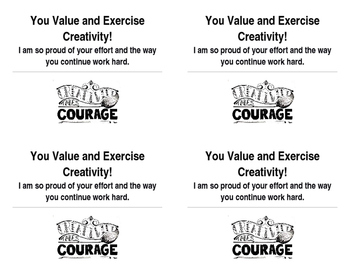 Positive Communication Post Cards for home