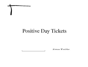 Positive Day Tickets