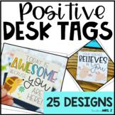 Positive Desk Tags