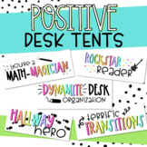 Positive Desk Tents for Students - Compliments