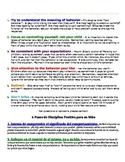 Positive Discipline Strategies for Parents - Kindergarten