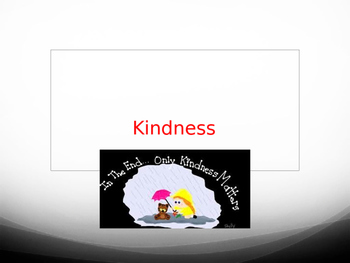 Positive Education - Kindness Warm-up