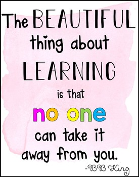 Positive Education Quotes Posters