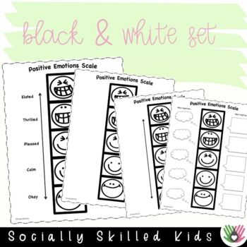 SOCIAL SKILLS: Positive Emotions Scales