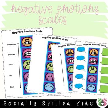 SOCIAL SKILLS Positive Emotions Scales {12 Differentiated Scales}