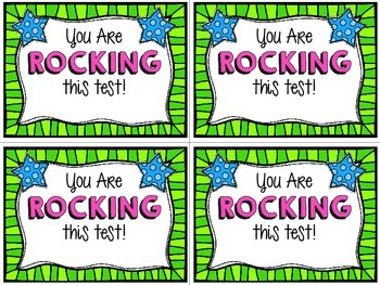 Positive & Encouraging Testing Notes