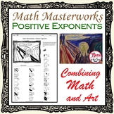 Positive Exponents Coloring Math Masterworks