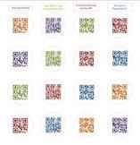Positive Feedback QR Code Sticker Sheet
