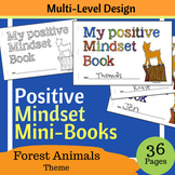 Positive Growth Mindset MiniBook - Woodland / Forest Animals