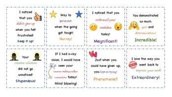 Positive Growth Mindset Notes