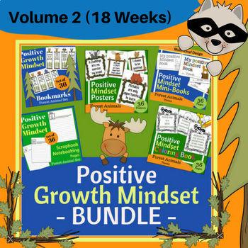Positive Growth Mindset Volume 2 (18 Weeks - 1 Semester)