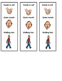 Positive Hallway Behaviors- Visual Aid