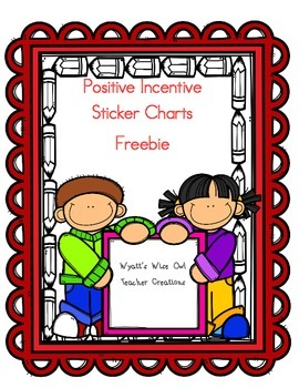Positive Incentive Sticker Charts Freebie