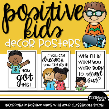 Positive Kids: Decor Posters