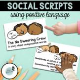 Swearing Social Story | Social Stories | Positive Language Social Story