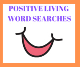Positive Living Word Searches (9 word searches)