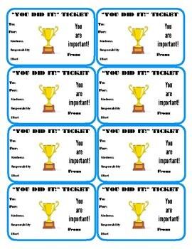 Positive Management Compliment Tickets