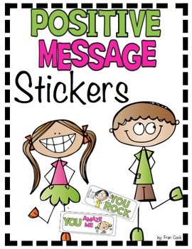 Positive Message Stickers Sample Pack
