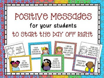 Positive Messages - Start Your Day the Right Way