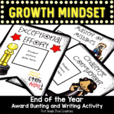 Back to School Growth Mindset Hollywood Themed Award Bunting