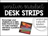 Positive Mindset Desk Strips
