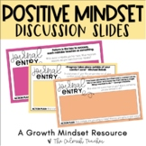 Positive Mindset Discussion Slides - Perfect for Morning Meetings