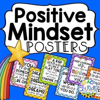 Positive Mindset Posters