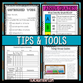 Parent Communication and Positive Notes Home