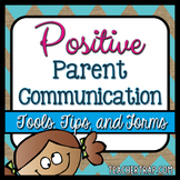 Parent Communication Pack {With EDITABLE Tools!}