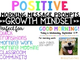 Positive Morning Messages >>GROWTH MINDSET>>
