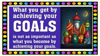 Inspirational Quotes: Positive, Motivational: POWERPOINT - over 60 quotes!