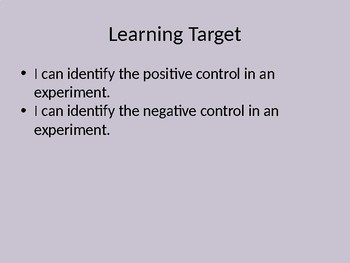 Positive & Negative Controls - Self-Paced Lesson