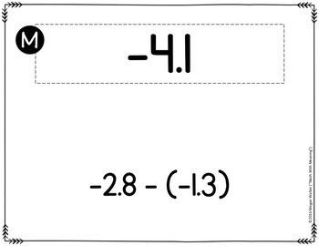 Positive & Negative Decimal Operations Scavenger Hunt - CCSS 7.NS.A.3 Aligned
