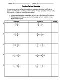 Positive & Negative Fraction Partner Match Practice