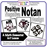 Art Lesson Notan Design Math Integrated